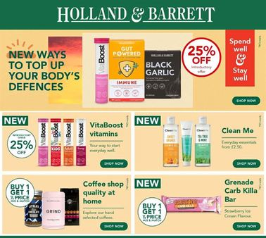 Tosa holland%20barrett%20latest%20offers%20june july%202020